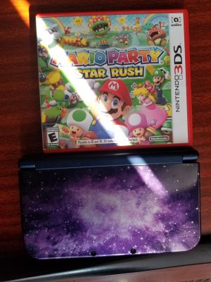 Nintendo 3ds and Mario party game