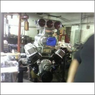BLOWN ALCOHOL BIG BLOCK CHEVY SUPERCHARGED 468 BBC