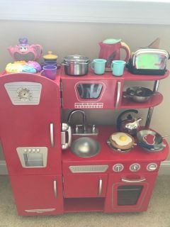 Kids Play Kitchen and Accessories