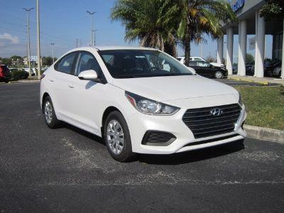 2019 Hyundai Accent (white)