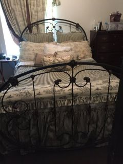 Wrought Iron Bed ( Queen Size)