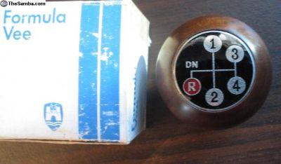 Rare NOS Formula Vee Shift Knob 7mm 62-67