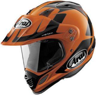 Purchase Arai XD4 XD-4 Explore Adventure Dual Sport Motard Motorcycle Helmet Orange LG motorcycle in Plymouth, Massachusetts, United States, for US $549.00