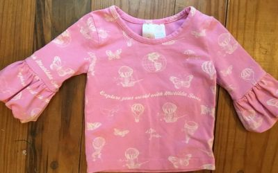 6m Matilda Jane Sky View Puffer Tee Paint by Numbers 13 Vvguc if not EUC