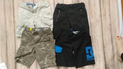 Size 5 boys shorts. Old navy, target and DC