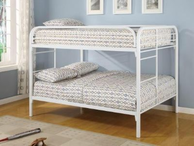 Full over Full bunk beds with two mattress.