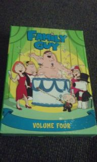 Family guy dvds season 4