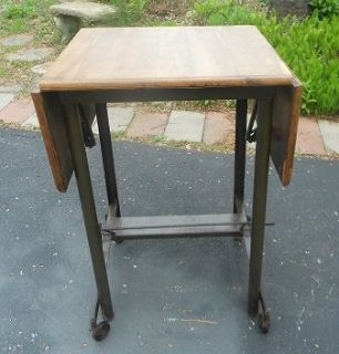 Industrial Vintage Typing Table