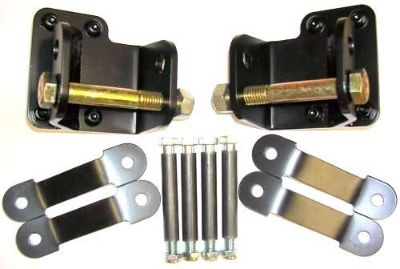 "Sell Plymouth Barracuda, Cuda, E-body 1"" offset spring hanger/shackle kit, suspension motorcycle in Polson, Montana, US, for US $185.00"