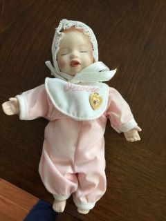 Reduced: Small October Porcelain Doll
