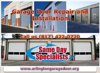 A+ Rated Emergency Garage Door Installation Service ($25.95) Arlington Dallas, 76006 TX
