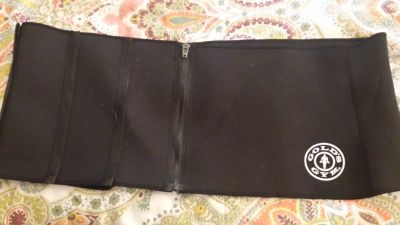 Golds Gym waist trimmer belt plus size