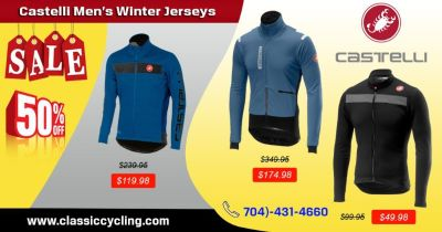 Men Apparel 2019 - Castelli Winter Jersey by Classic Cycling