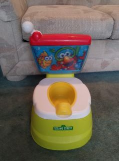 Sesame Street Toddler Talking Elmo Adventure Potty Chair for Toilet Training This is the Sesame Street Elmo Potty chair for potty Trainin