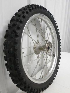 "Find 2007 Honda CRF150R CRF 150 R CRF150 R Small Front Wheel Assy 17"" 07 - 13 motorcycle in Oconomowoc, Wisconsin, US, for US $60.00"
