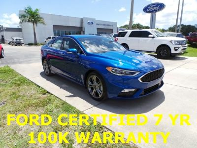2018 Ford Fusion Sport (Lightning Blue)