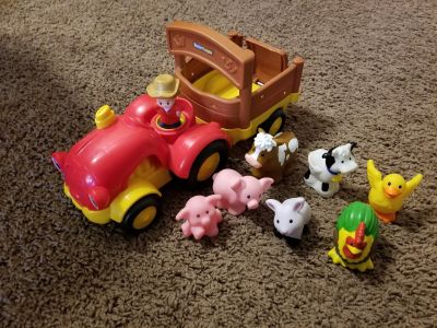Little People Tractor and animals