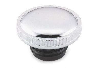 Buy CHROME GAS CAP VENTED FUEL CAP FOR HARLEY 82-LATER GAS TANK CAP WITH RIBBED EDGE motorcycle in Smyrna, Tennessee, United States, for US $15.95
