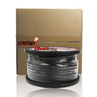 Sell Rockford Fosgate RFW4B 100 Feet Spool 4 AWG Frosted Black Wire motorcycle in Los Angeles, California, United States, for US $139.95