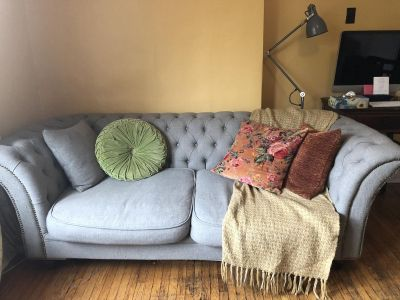 FREE Tufted Couch