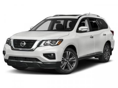 2019 Nissan Pathfinder SV (Midnight Pine Metallic)