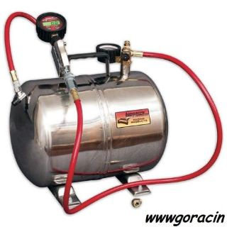 Sell Longacre Polished Aluminum Air Tank with Digital 0-60 PSI Quick Fill Tire Gauge motorcycle in Monroe, Washington, United States, for US $229.00