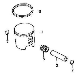 Find Honda PISTON KIT 2003 CR125R CR125 CR 125 OEM motorcycle in Maumee, Ohio, US, for US $75.99