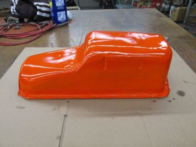 Buy 1963-67 Corvette Small Block Chevy 327 6 Quart Oil Pan with Baffle No Trap Rare motorcycle in Cincinnati, Ohio, United States, for US $385.00