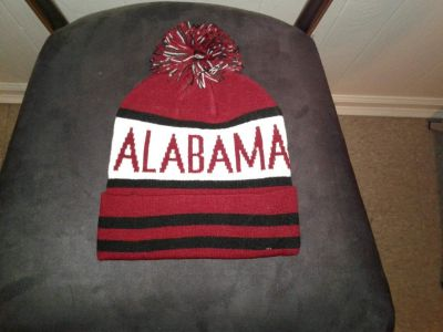 Alabama Knit Hats with Pom Pom
