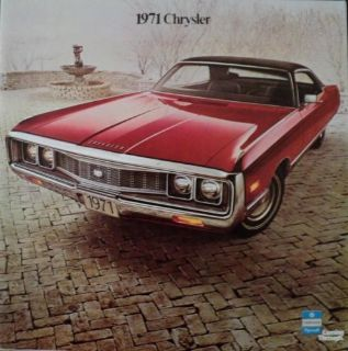 Find NOS 1971 Chrysler Newport 300 New Yorker Town & Country Imperial Sales Brochure motorcycle in Holts Summit, Missouri, United States, for US $15.71