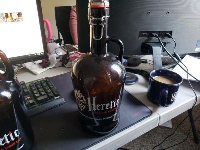 Heretic Brewing Co. Large Growler (Old Style)