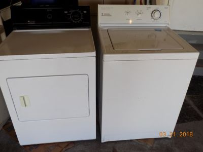 Good Working Washer and Dryer REDUCED!!!