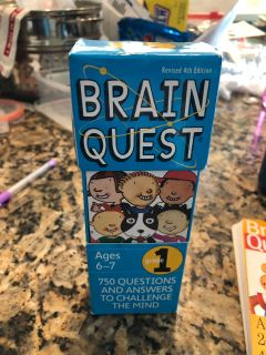 Brain Quest Learning card set