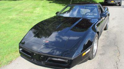 1987 Chevrolet Corvette Base (Black)
