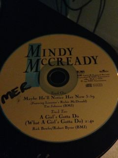 Mindy McCready Maybe He'll notice her now single
