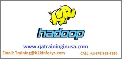 Hadoop Online Training, Job Support & Live-projects by Qatraininginusa.