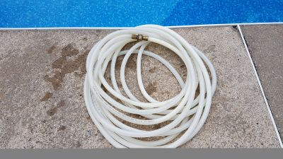 50' Clear Reinforced Drinking Water Hose Line Pipe Good for RV Camper Boat
