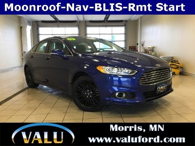 2016 Ford Fusion SE (Deep Impact Blue)