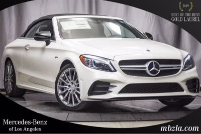 2019 Mercedes-Benz C-Class AMG C 43 (designo Diamond White Metallic)