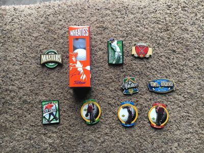 Tiger woods collectibles