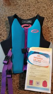 Youth life vest - BRAND NEW WITH TAGS
