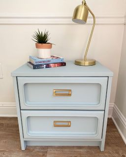 Small, chic side table