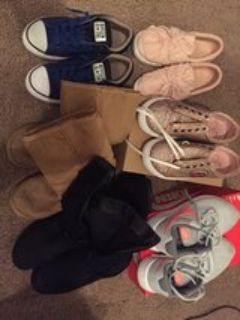 Girls Kids Shoes All for $100 size 2-3