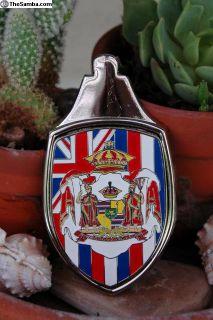 Limited Edition Hawaiian Hood Badge/Crest