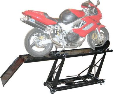 Buy NEW BLACK WIDOW HYDRAULIC MOTORCYCLE LIFT TABLE HOIST-DROP PANEL-VISE (BW-550-R) motorcycle in West Bend, Wisconsin, US, for US $529.99
