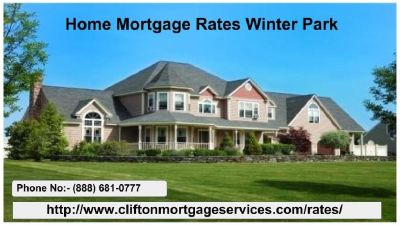 Get the best Home Mortgage Rates in Winter Park | Clifton Mortgage
