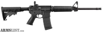 "For Sale: Ruger 8500 AR-556 Semi-Automatic AR-15 Rifle 5.56 NATO 16.1"" 30+1"
