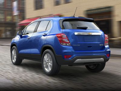 2018 Chevrolet Trax LS (Black Metallic)
