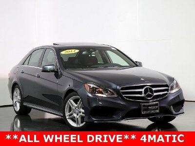 2014 Mercedes-Benz E-Class E350 4MATIC Luxury (gray)