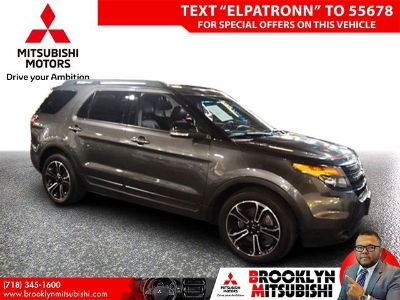 2015 Ford Explorer Sport (Magnetic Metallic)